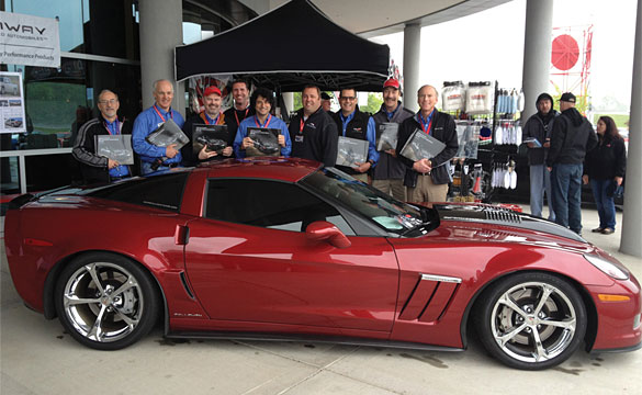 Key Corvette Managers Receive Callaway Corvette Commemorative Books