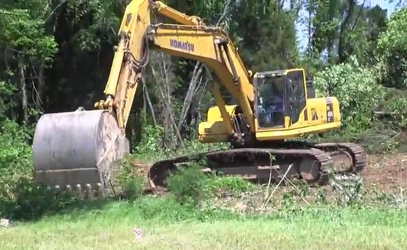 [VIDEO] Corvette Museum Begins Clearing Land for Motorsports Park