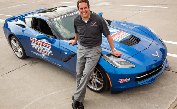[VIDEO] Mark Reuss to Pace Indy Dual in Detroit in 2014 Corvette Stingray
