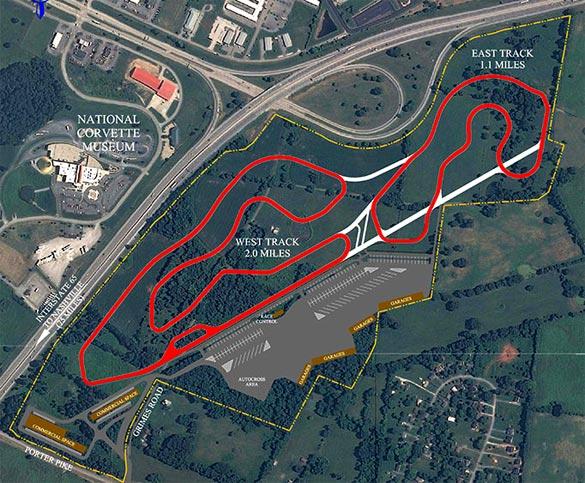 Corvette Museum Surpasses Fundraising Goal to Build the Motorsports Park