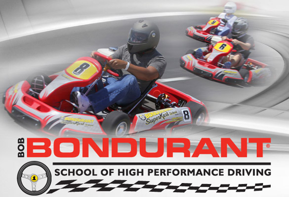 Send Dad to Bondurant's Performance Driving Experience for Father's Day