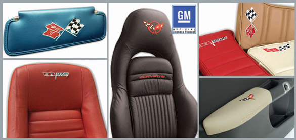 Spruce Up Dad's Corvette with Corvette America's Embroidery Collection