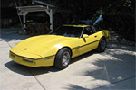 Corvettes on Craiglist: Mock Rear Engine 1985 Corvette