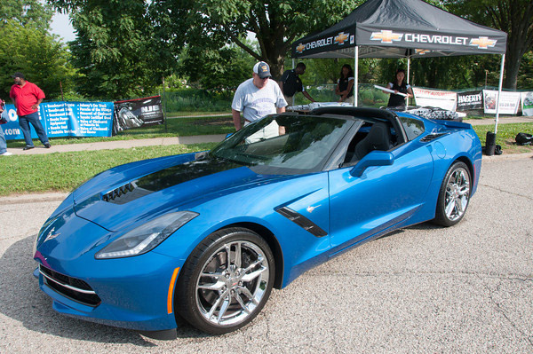 2014 Corvette Blue