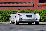 1953 Corvette VIN 083 Heading to Russo and Steele Newport Beach