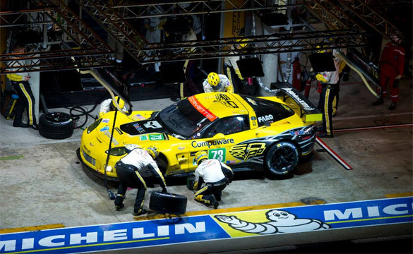 Corvette Racing at Le Mans: 18 Hour Race Report