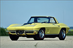 1967 Yellow / Black 427/435 Corvette Convertible