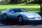 1984 Corvette Coupe with Tri Coat Paint