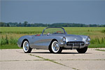 1957 Silver/Red 283/245 Corvette Convertible