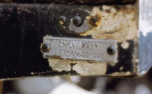 Barn Finds: The Story of 1955 Corvette VIN# 001