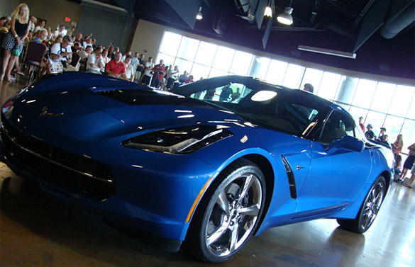 [VIDEO] The Reveal of the 2014 Corvette Stingray Premiere Edition at the Corvette Museum