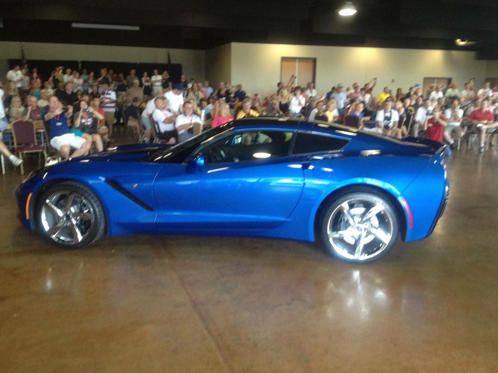 The Reveal Of 2017 Corvette Stingray Premiere Edition At Museum
