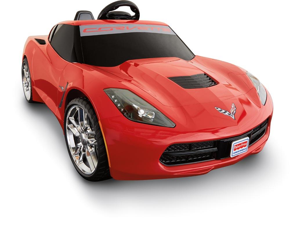New Fisher-Price Power Wheels Corvette Stingray Coming ...