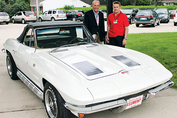 1963 Corvette Brings Old High School Friends Together