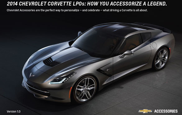 Chevrolet Details Limited Production Options for Customizing the 2014 Corvette Stingray