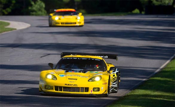 Corvette Racing: Compuware Corvette C6.Rs Qualify Third and Fifth at ALMS Lime Rock Grand Prix