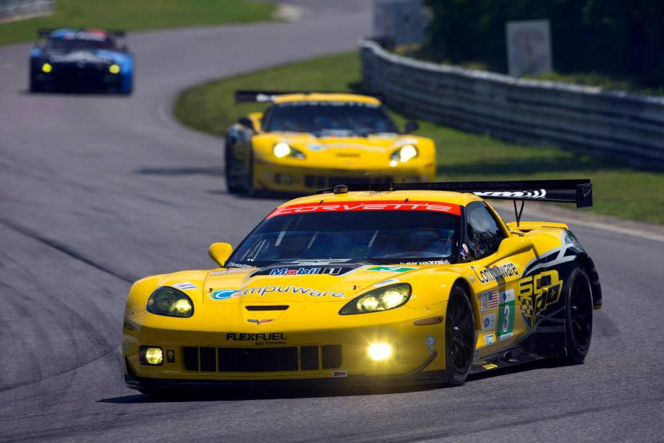 corvette racing compuware corvette c6 rs qualify third and fifth at alms lime rock grand prix. Black Bedroom Furniture Sets. Home Design Ideas