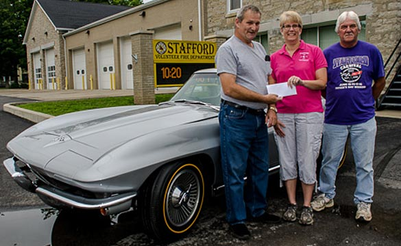 Raffle Winner Passes on a 1965 Corvette, takes $50,000 Cash Instead