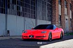 [PICS] Red C5 Corvette on D2FORGED FMS05 Wheels