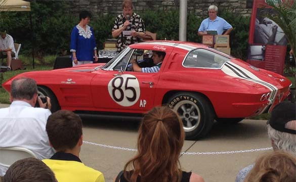 Historic 1963 Corvette Z06 Race Car Invited to the Concours d'Elegance of America