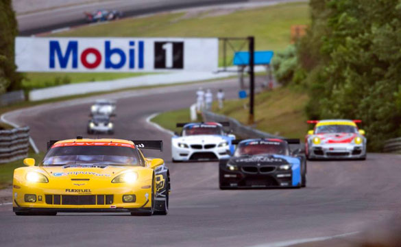 Corvette Racing in Canada: Second, Sixth in ALMS GT Qualifying