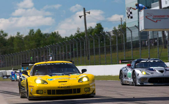 Corvette Racing in Canada: Pressure-Packed WIn for Gavin, Milner