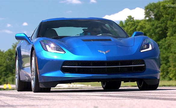 [VIDEO] Edmunds Drives the 2014 Chevrolet Corvette Stingray