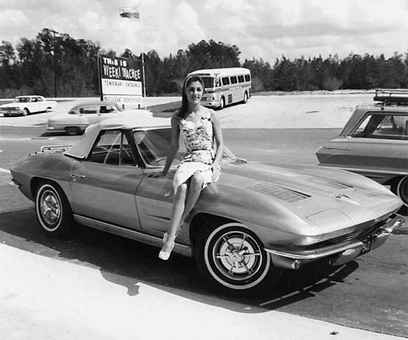 Throwback Thursday: 1963 Corvette Sting Ray at Weeki Wachee, Florida