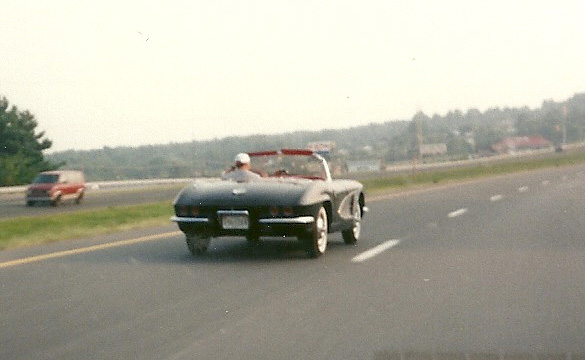 Taking the 61 down the highway.