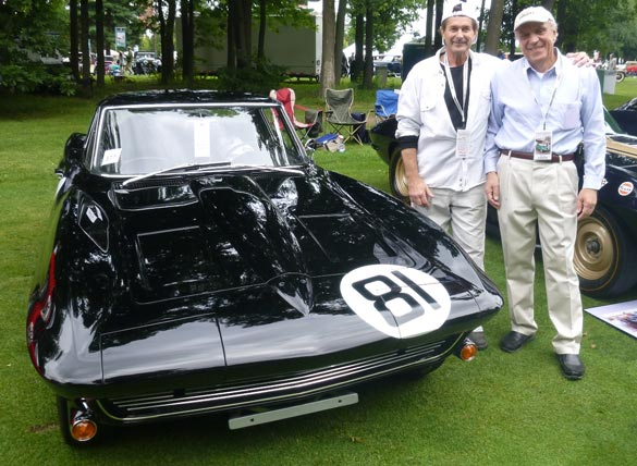 Corvette Excitement at the Concours d'Elegance of America