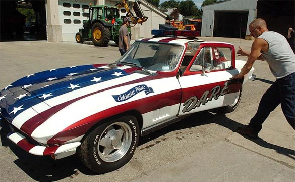 Connecticut Town Sells its 1967 DARE Corvette for $25,000