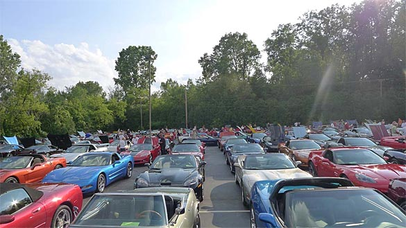 2013 Corvettes on Woodward Event is August 14th – 16th