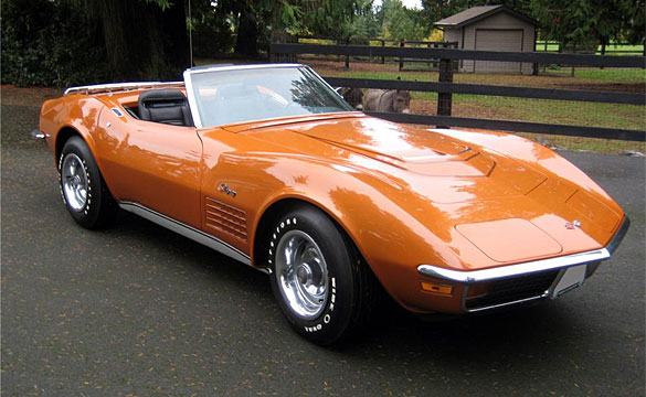 Lot 392 – 1972 LT-1 Corvette Convertible