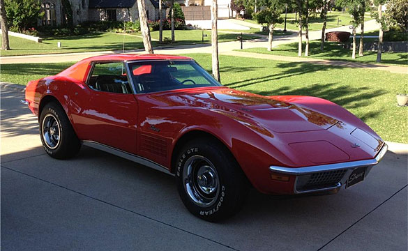 Lot 444 – 1970 LS5 Corvette Coupe