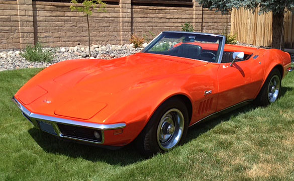 Lot 122 – 1969 350/300 Corvette Convertible