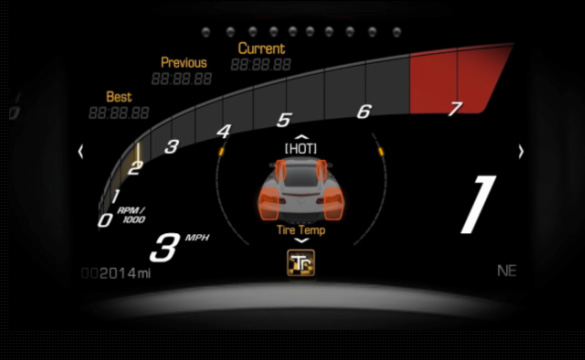 [VIDEO] 2014 Corvette Stingray's Advanced Dash Displays