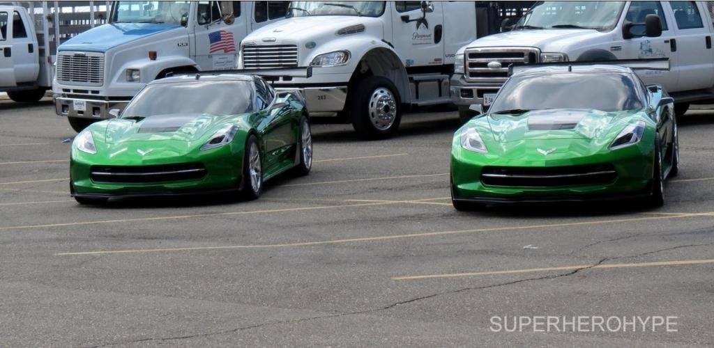 pics transformers 39 c7 corvette stingrays spotted on the set in detroit. Cars Review. Best American Auto & Cars Review