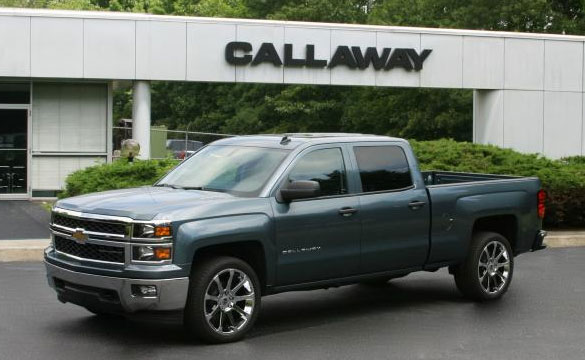 Callaway First to Supercharge the 2014 Chevrolet Silvarad