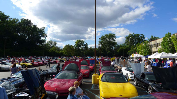 [PICS] 2013 Corvettes on Woodward Food