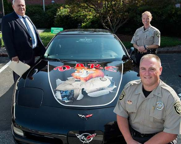 North Carolina Sheriff's Office Shows Off New C5 DARE Corvette