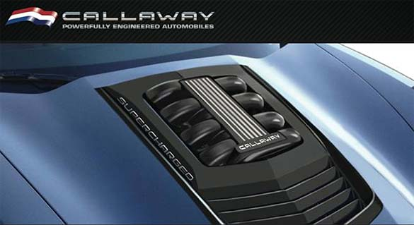 Callaway Cars Shows Off New Hood Design for the 2014