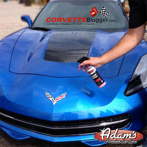 CorvetteBlogger and Adam's Polishes Giving Away a Corvette and Camaro Detail Kit