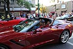 2013 Corvettes at Carlisle - Downtown Parade