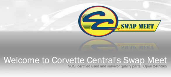 Corvette Central Launches Online Swap Meet Catalog