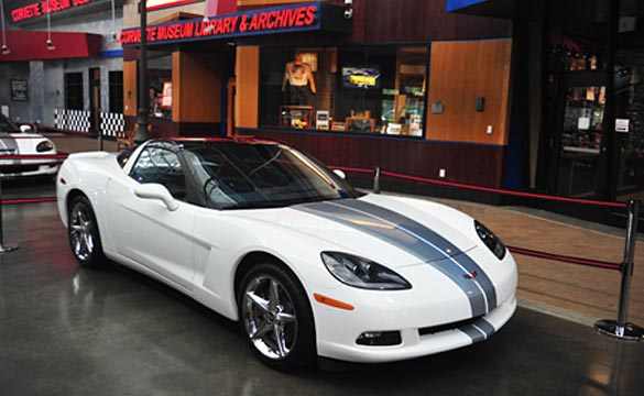 Corvette Museum Offers $10 Raffle for the last C6 Corvette Coupe
