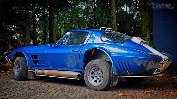 [VIDEO] C2 Corvette Grand Sport Replica Preps for East African Rally