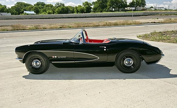 1957 Rare Airbox Corvette Headed to Mecum Dallas