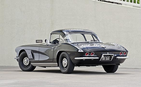 1962 Tuxedo Black Corvette Headed to Mecum Dallas