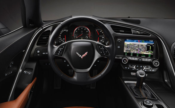 2014 Corvette Stingray's cockpit