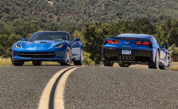 2014 Corvette Stingray in Laguna Blue